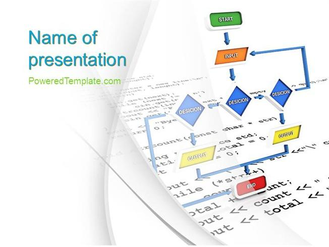 Application programming powerpoint template by poweredtemplate application programming powerpoint template by poweredtemplate authorstream toneelgroepblik Images