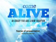 Come Alive PowerPoint Template by PoweredTemplate.com