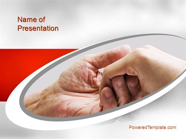 Elderly care powerpoint template by poweredtemplate authorstream toneelgroepblik Image collections