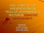 DISASTER PRESENTATION (ANAND)