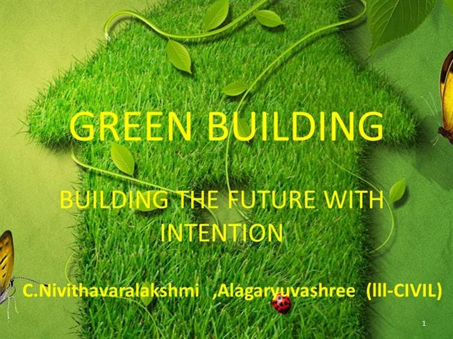 green building concept ppt |authorstream, Powerpoint templates