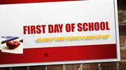 Ernest Hall First Day of School PPT