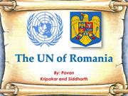 The UN of Romania