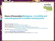Betelgeuse – A mobility and networking benefit to aviation training se