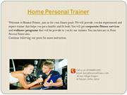 Home Personal Trainer by Bouncefitness.com