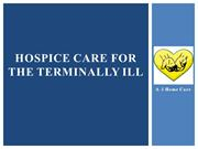 Hospice Care in Los Angeles and Orange County