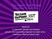 You Have the Power Overview