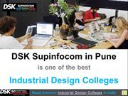 Top Industrial Design Colleges by DSK Supinfocom in Pune