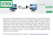 Extron Service Corporate Profile