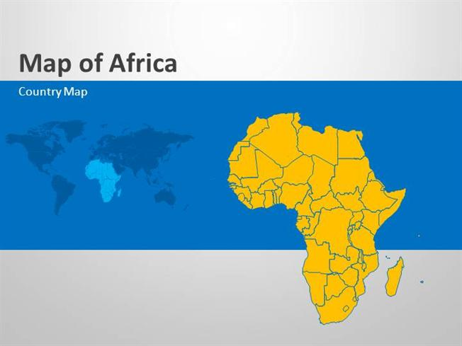 Africa   Editable Powerpoint Map Slides |authorSTREAM
