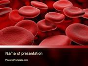 RBC Cells PowerPoint Template by PoweredTemplate.com