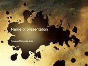 Stain PowerPoint Template by PoweredTemplate.com