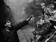 Prague August 21, 1968_ Warsaw Pact tanks invade Prague,Josef Koudelka