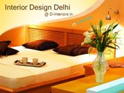 Interior Design Delhi @ D-Interiors.in