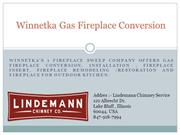 Winnetka Gas Fireplace Conversion