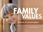 Early Childhood Education PowerPoint Template by PoweredTemplate.com