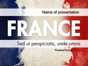 France Presentation PowerPoint Template by PoweredTemplate.com
