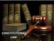 characteristics of constitutional law