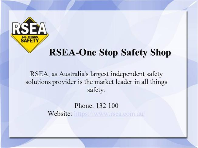 d4a3fea3451 RSEA All Things Safety |authorSTREAM