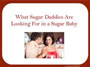 What Sugar Daddies Expect From Sugar Babies
