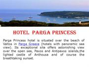 Greece Luxury Hotels Guide Hotel Parga Princess