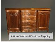 Antique Sideboard Furniture Shopping