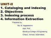 IRS_UNIT_II-I_Catalog