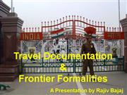 Travel Documentation & Formalities