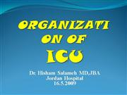 Organization of ICU