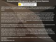 Principal Account Management, Inc. Legal Services Expansion