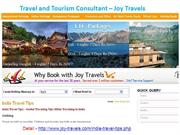 Travel and Tourism Consultant - Joy Travels