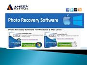 Amrev Photo Recovery Software for Mac & Windows