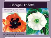Georgia O'Keeffe: Exploring Nature Through Color