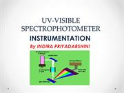 Uv-Visible Spectrophotometer-