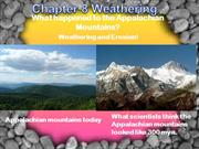 Chapter 8 Weathering