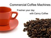 Rent commercial coffee machines in UK