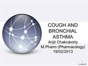 COUGH AND BRONCHIAL ASTHMA PRESENTATION
