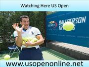 Watch Tennis US Open Championship Tennis
