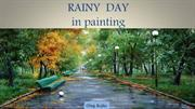 Rainy days in painting
