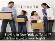 Know Your Right as Renter in the New York City