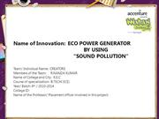 ECO POWER GENERATOR