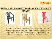 Buy Plastic Folding Chairs From Chairs-and-Tables-R-US