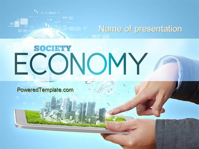Smart city powerpoint template by poweredtemplate authorstream toneelgroepblik Image collections