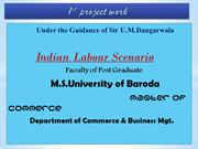 Indian labour scenerio