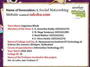 A Social Networking A Social Networking Website named raksha.com