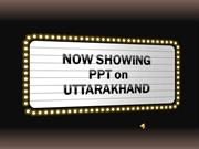 ppt on uttarakhand