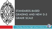 Morton HS Grading Presentation for Students 082613