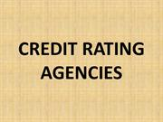 Credit rating agencies rogh
