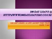 100 day loans @ http