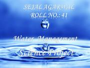 water management...!!